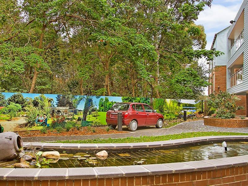 Green garden for dementia patients at IRT Woonona