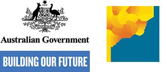 Australian Government Building Our Future Logo